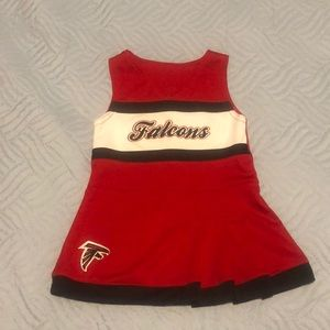 Other - Falcons baby cheerleader dress